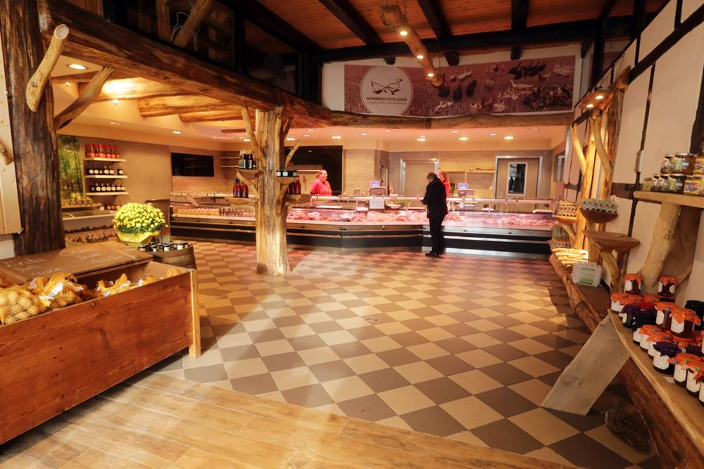 Hörnings Hofladen in Warmse nach der Renovierung 2020